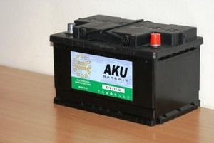 Autobaterie EURO POWER 74Ah,12V,680A