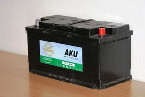 Autobaterie EURO POWER 88Ah,12V,720A